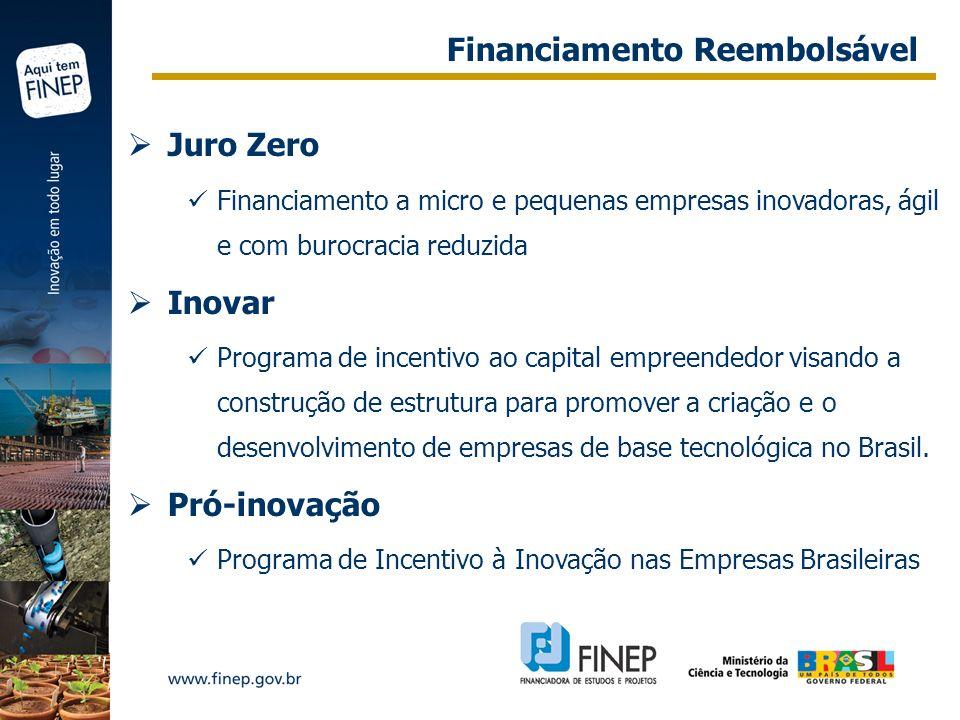 Financiamento Reembolsável