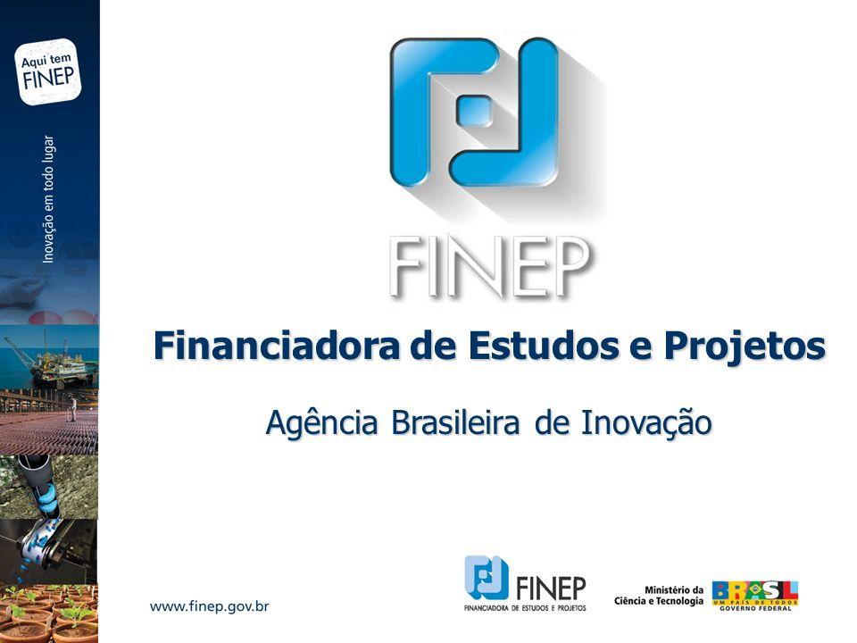 Financiadora de Estudos e Projetos Agência Brasileira de Inovação