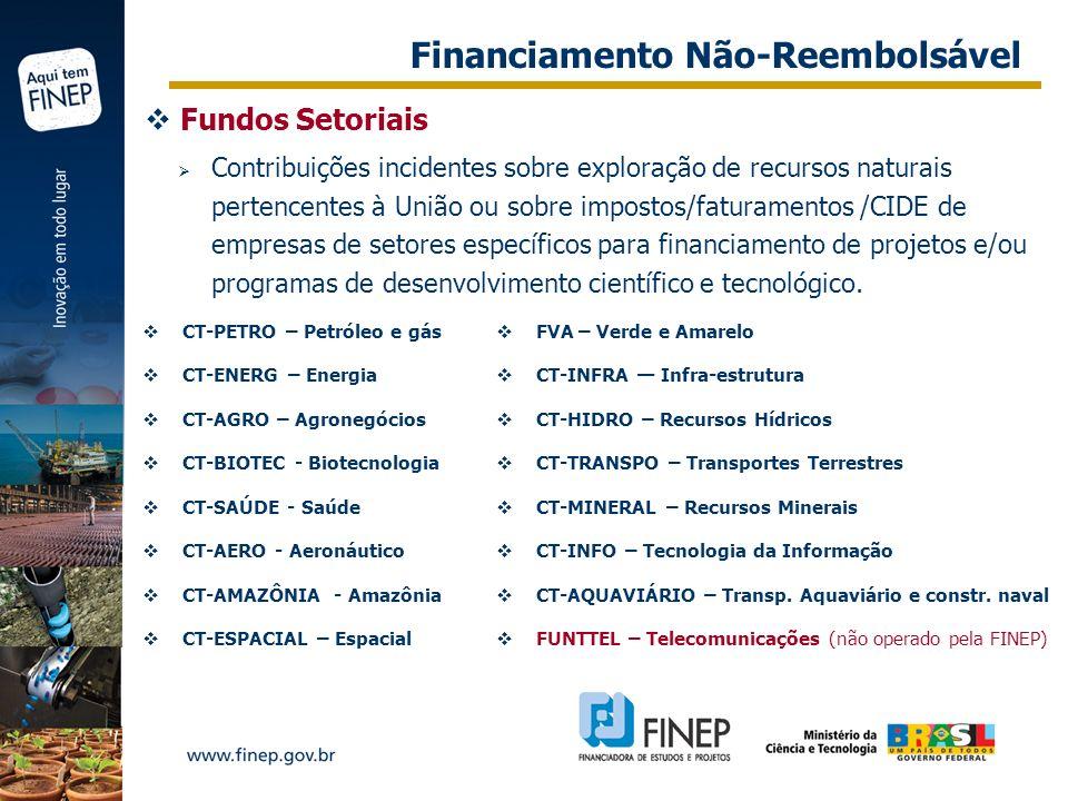 Financiamento Não-Reembolsável
