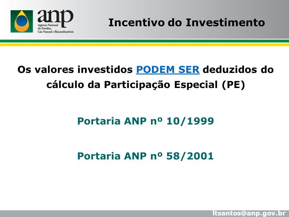 Incentivo do Investimento