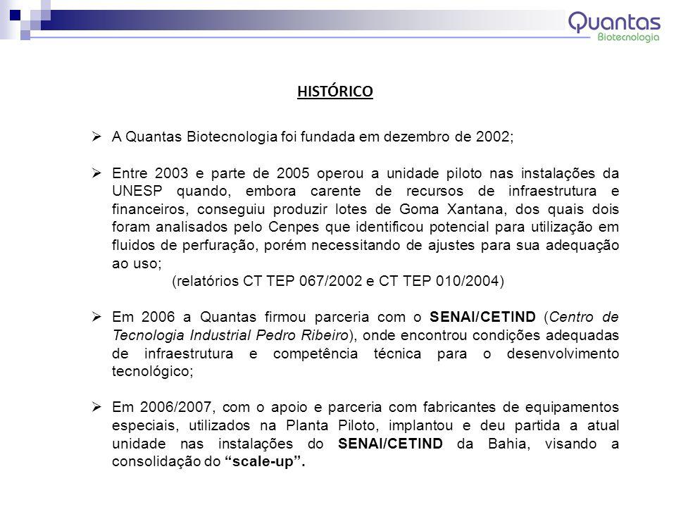 (relatórios CT TEP 067/2002 e CT TEP 010/2004)