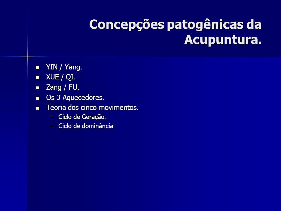 Concepções patogênicas da Acupuntura.