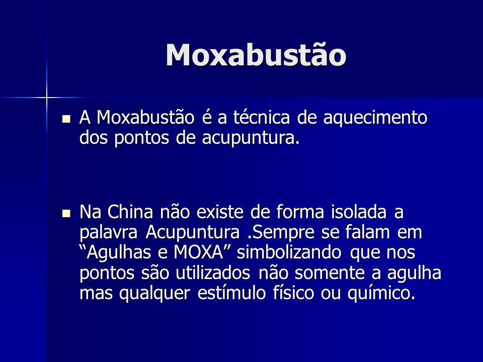 MoxabustãoA Moxabustão é a técnica de aquecimento dos pontos de acupuntura.