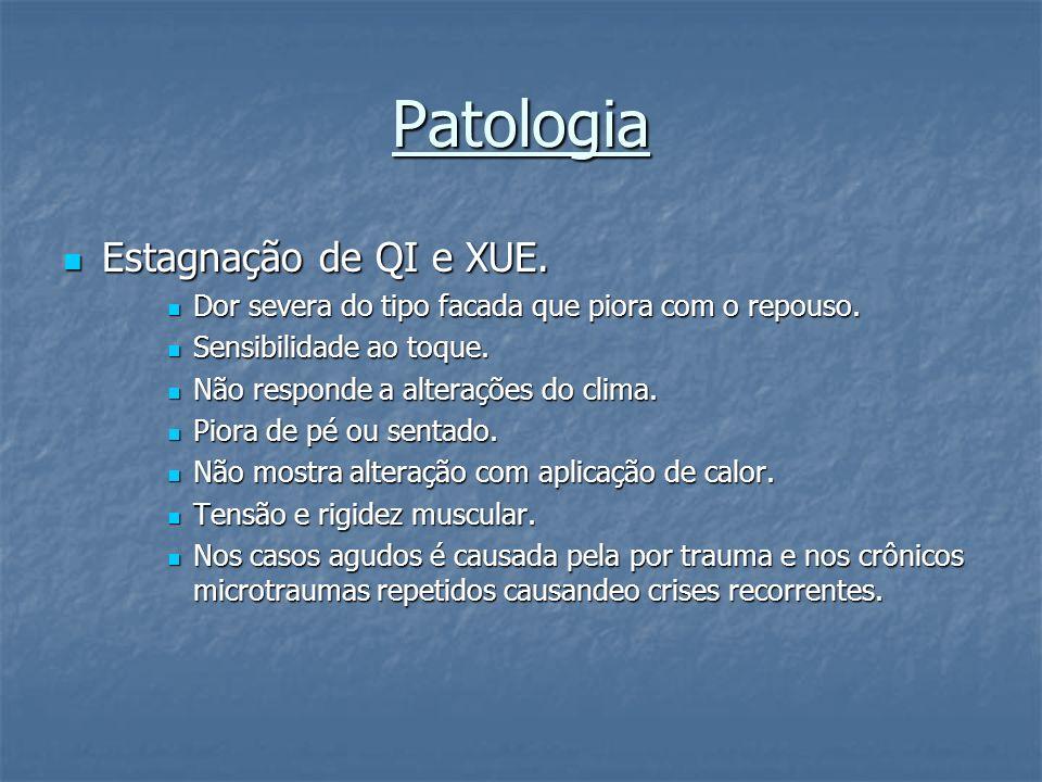 Patologia Estagnação de QI e XUE.
