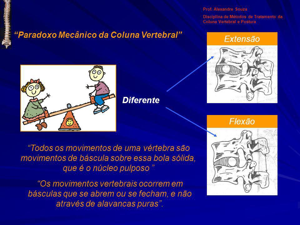 Paradoxo Mecânico da Coluna Vertebral