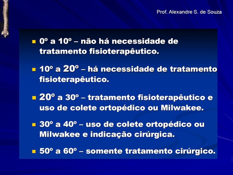 Prof. Alexandre S. de Souza