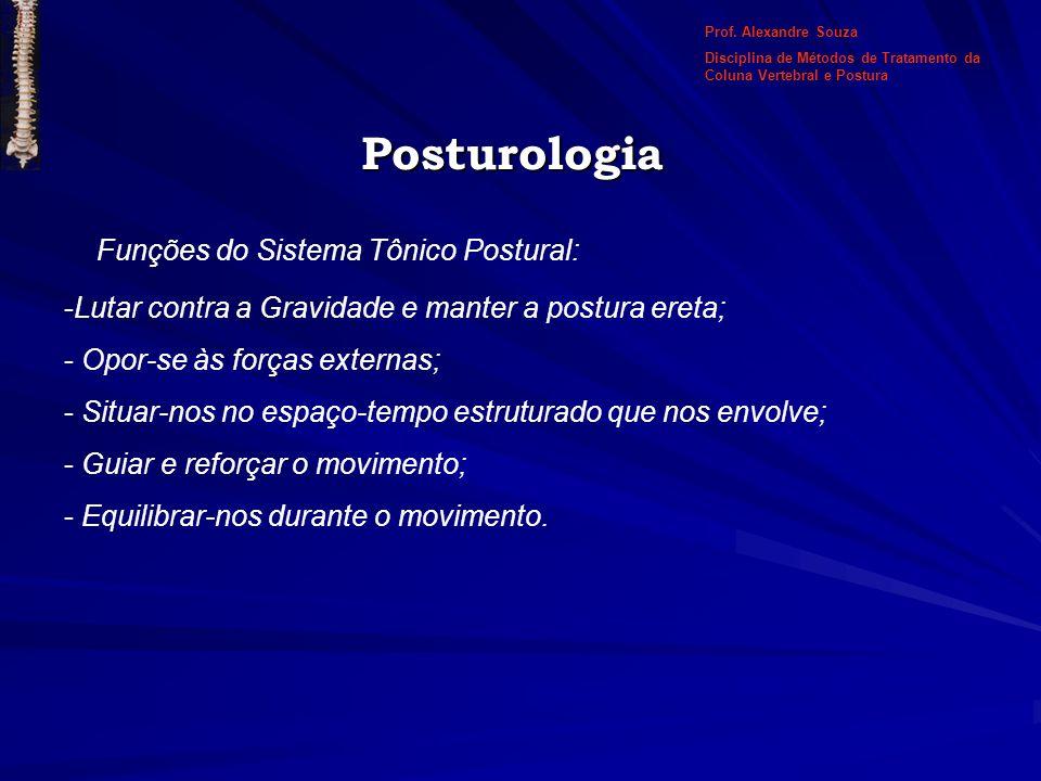 Posturologia Funções do Sistema Tônico Postural: