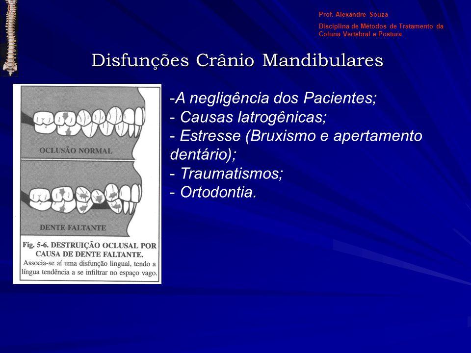 Disfunções Crânio Mandibulares