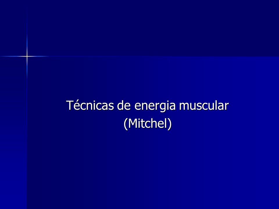 Técnicas de energia muscular
