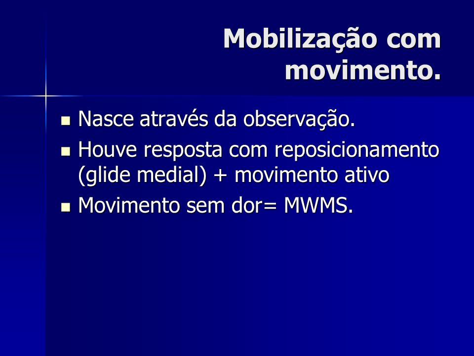 Mobilização com movimento.