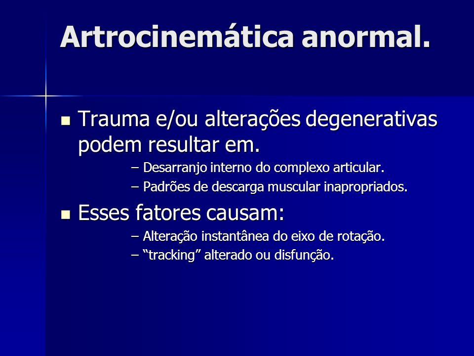 Artrocinemática anormal.