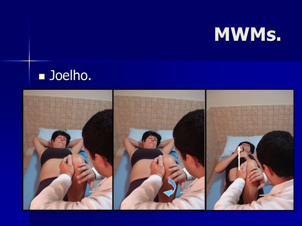 MWMs. Joelho.