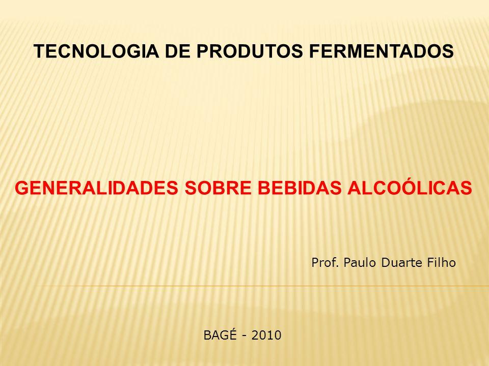 TECNOLOGIA DE PRODUTOS FERMENTADOS