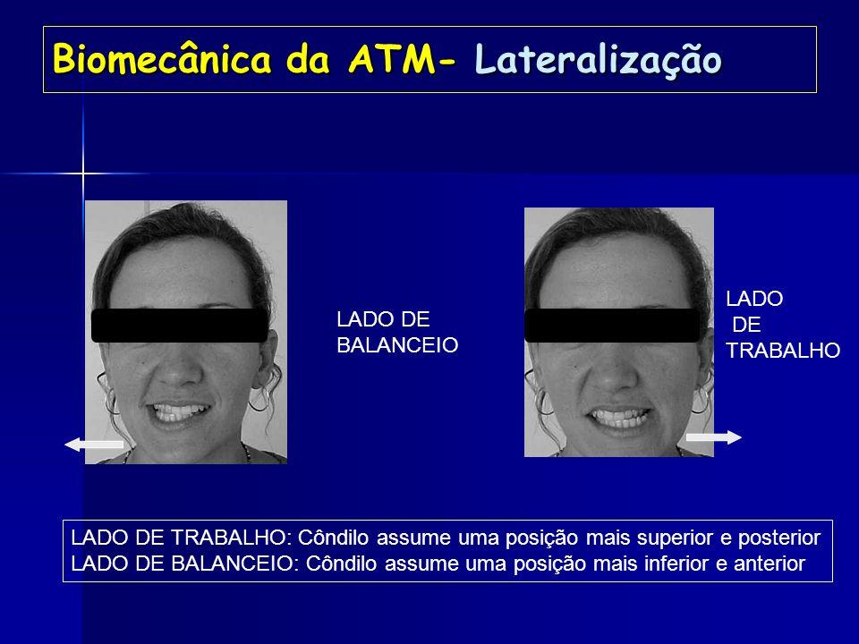 Biomecânica da ATM- Lateralização