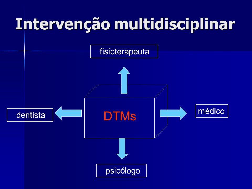 Intervenção multidisciplinar
