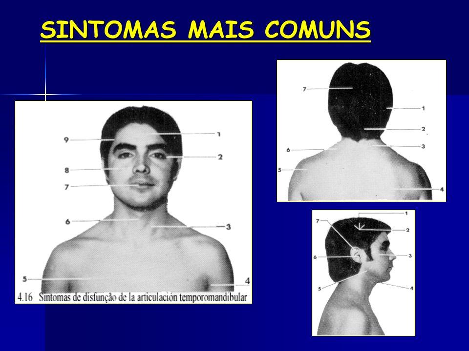 SINTOMAS MAIS COMUNS