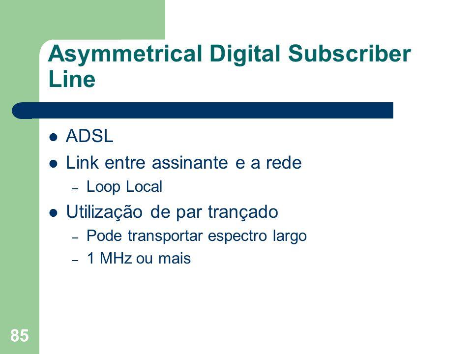 Asymmetrical Digital Subscriber Line