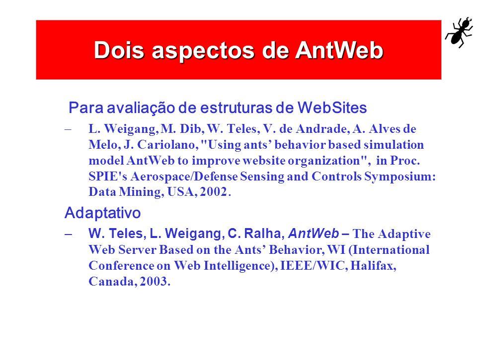 Dois aspectos de AntWeb