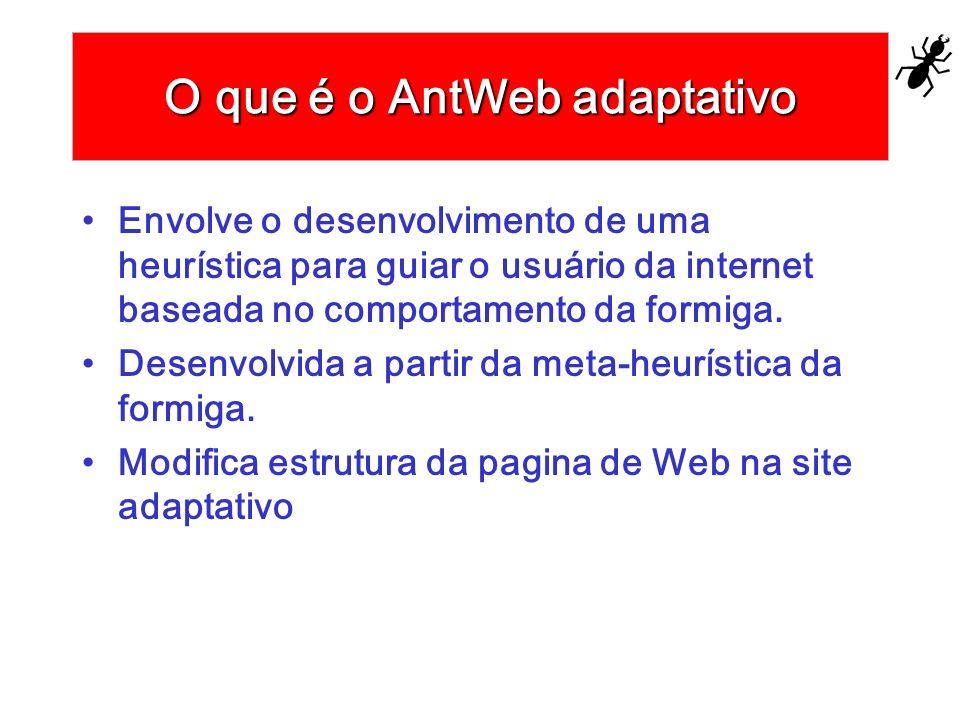 O que é o AntWeb adaptativo