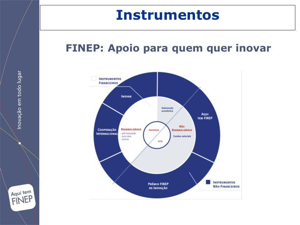 Instrumentos FINEP: Apoio para quem quer inovar 19