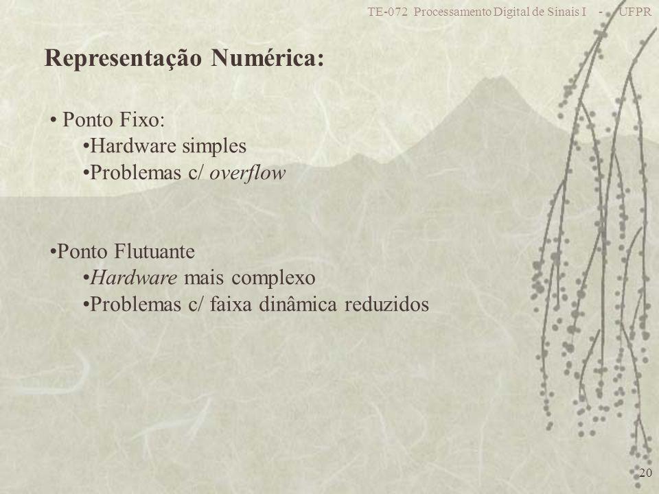 Representação Numérica: