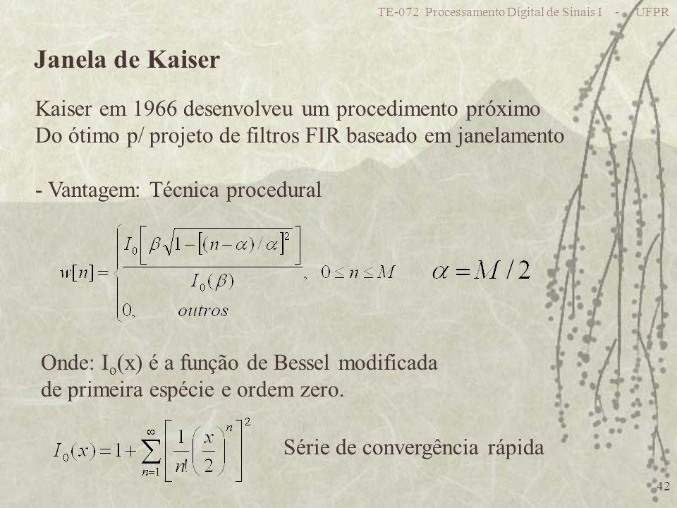 Janela de Kaiser Kaiser em 1966 desenvolveu um procedimento próximo