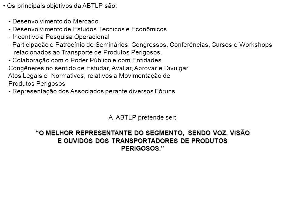 • Os principais objetivos da ABTLP são: