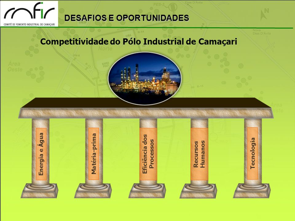Competitividade do Pólo Industrial de Camaçari