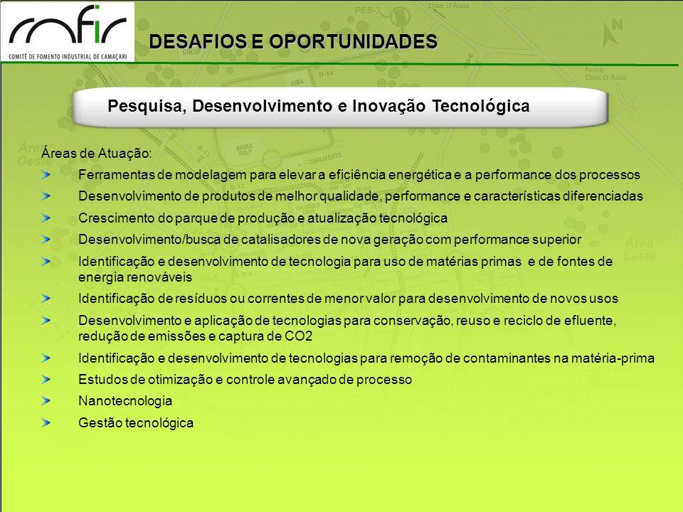 Pesquisa, Desenvolvimento e Inovação Tecnológica