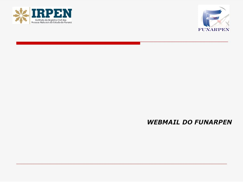 WEBMAIL DO FUNARPEN 31