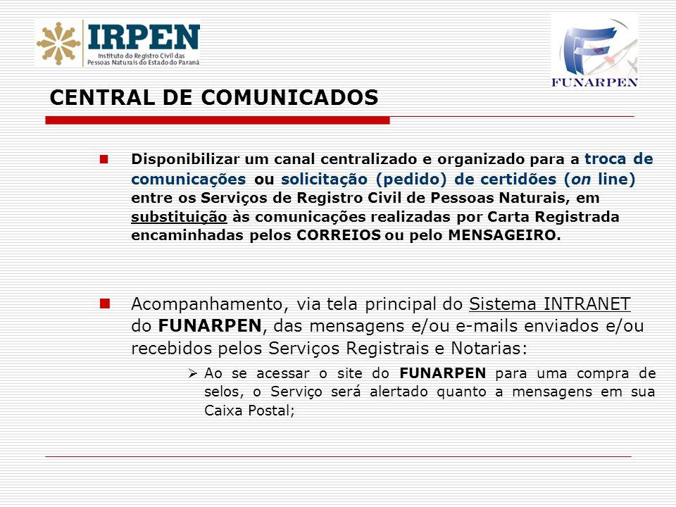 CENTRAL DE COMUNICADOS