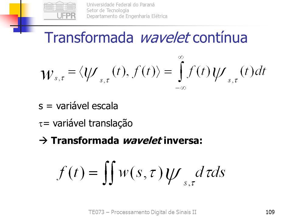 Transformada wavelet contínua