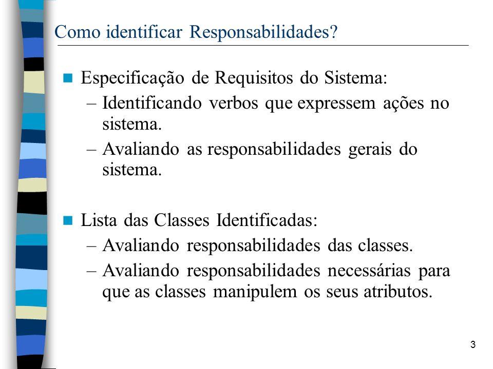 Como identificar Responsabilidades