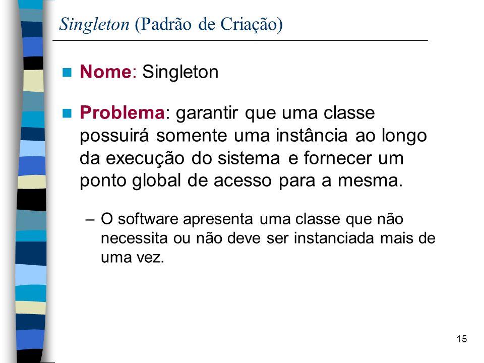 Singleton (Padrão de Criação)