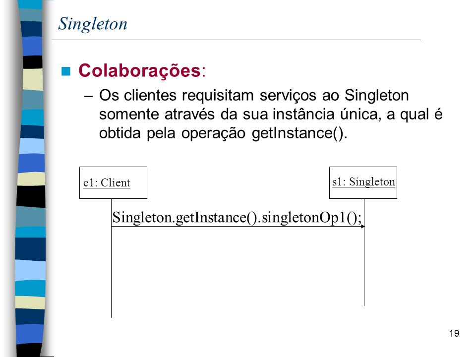 Singleton Colaborações: