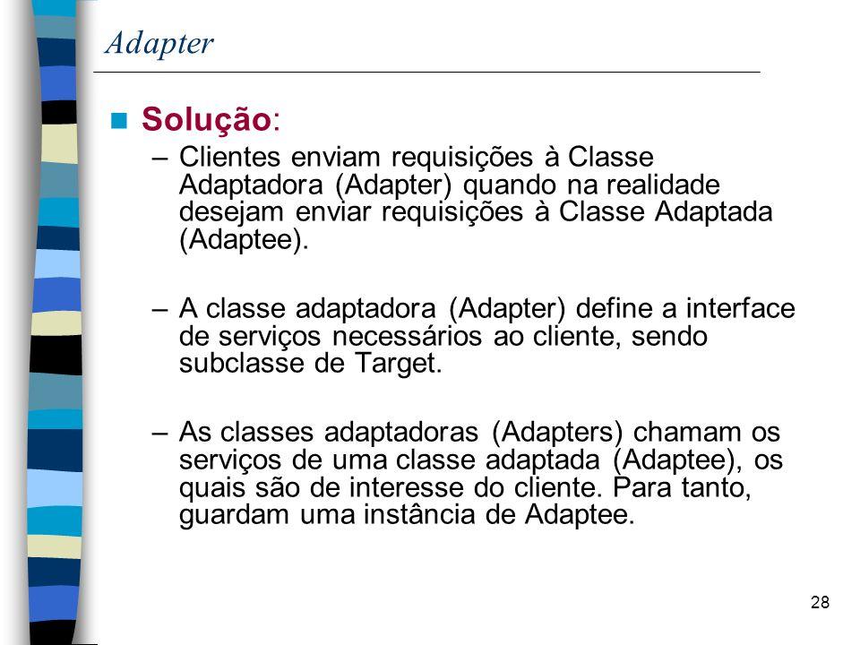 Adapter Solução: