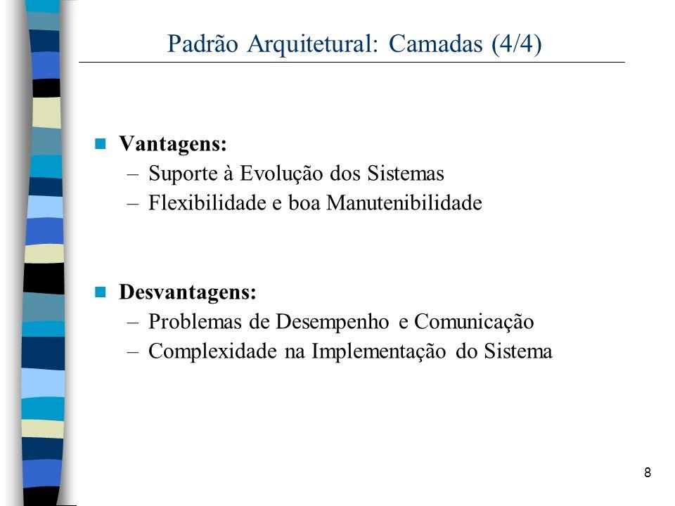 Padrão Arquitetural: Camadas (4/4)