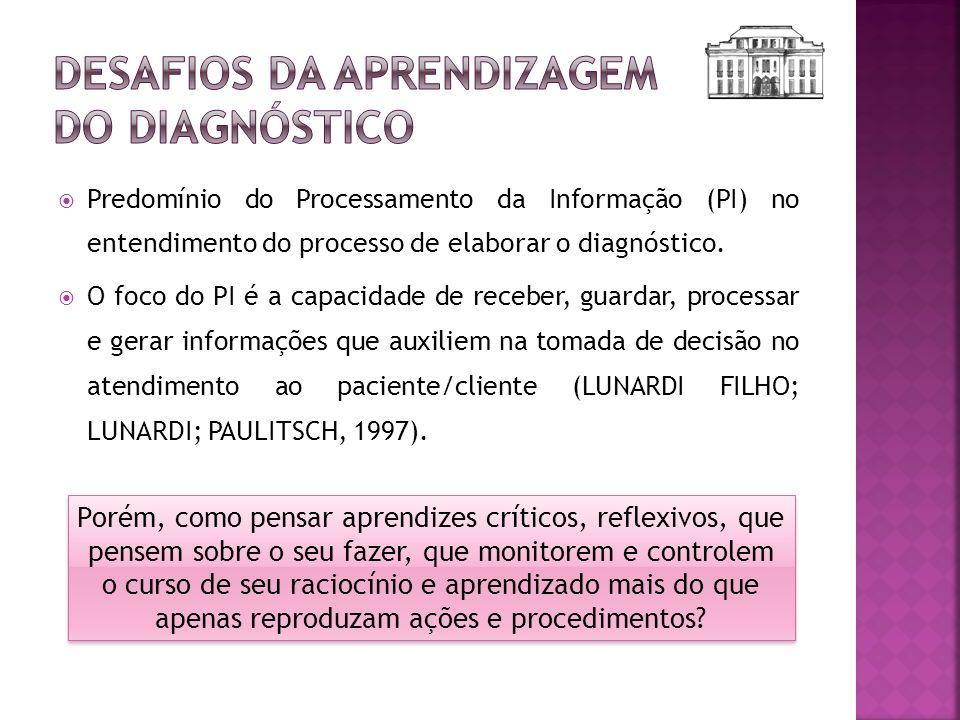 Desafios da aprendizagem do diagnóstico
