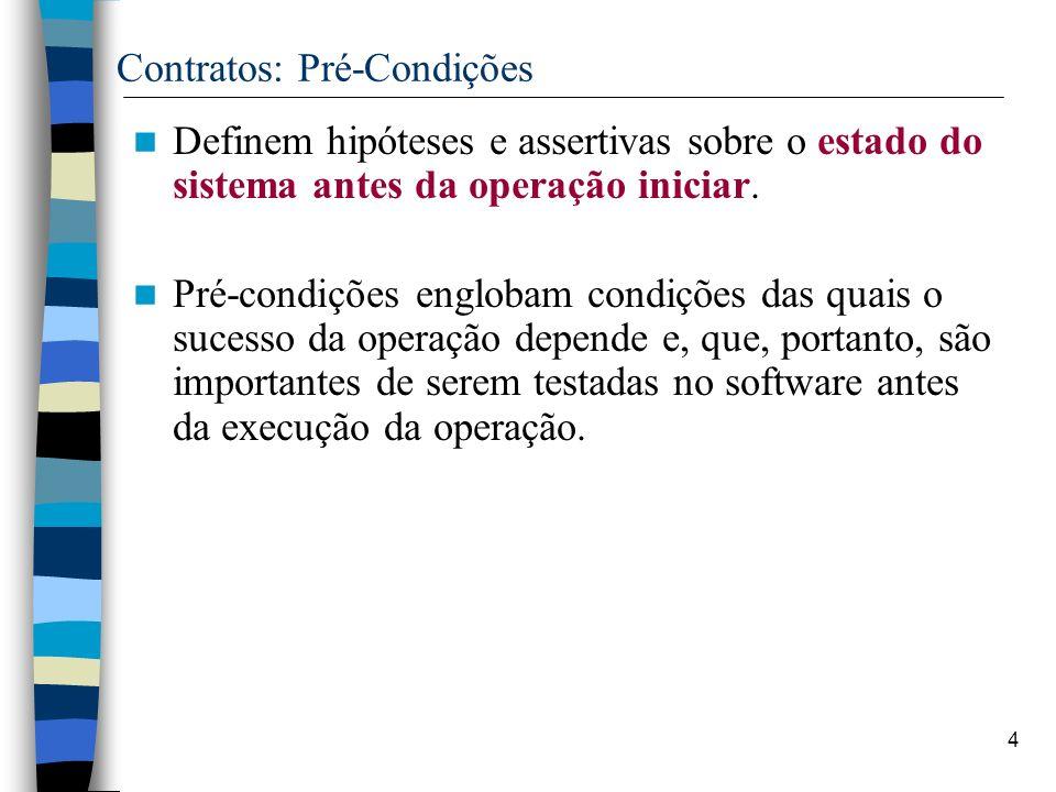 Contratos: Pré-Condições