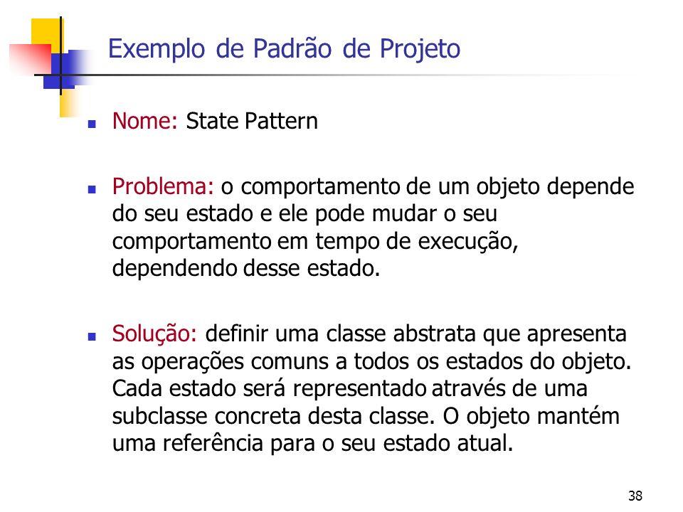 Exemplo de Padrão de Projeto