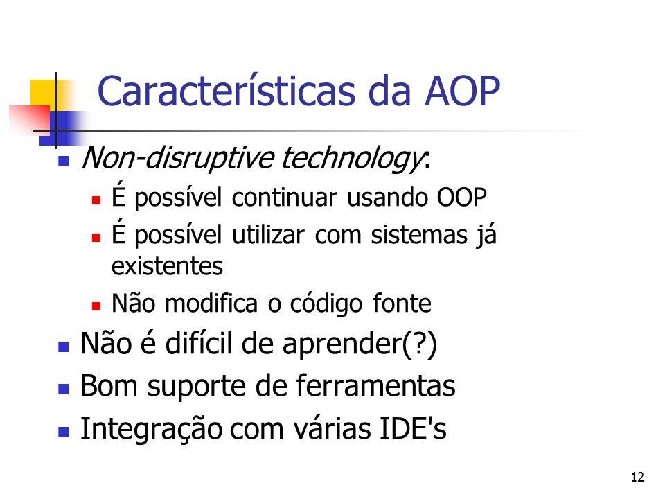 Características da AOP