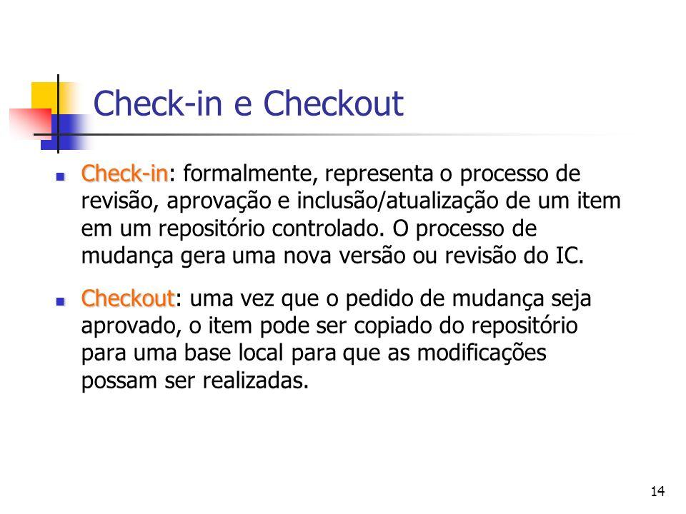 Check-in e Checkout