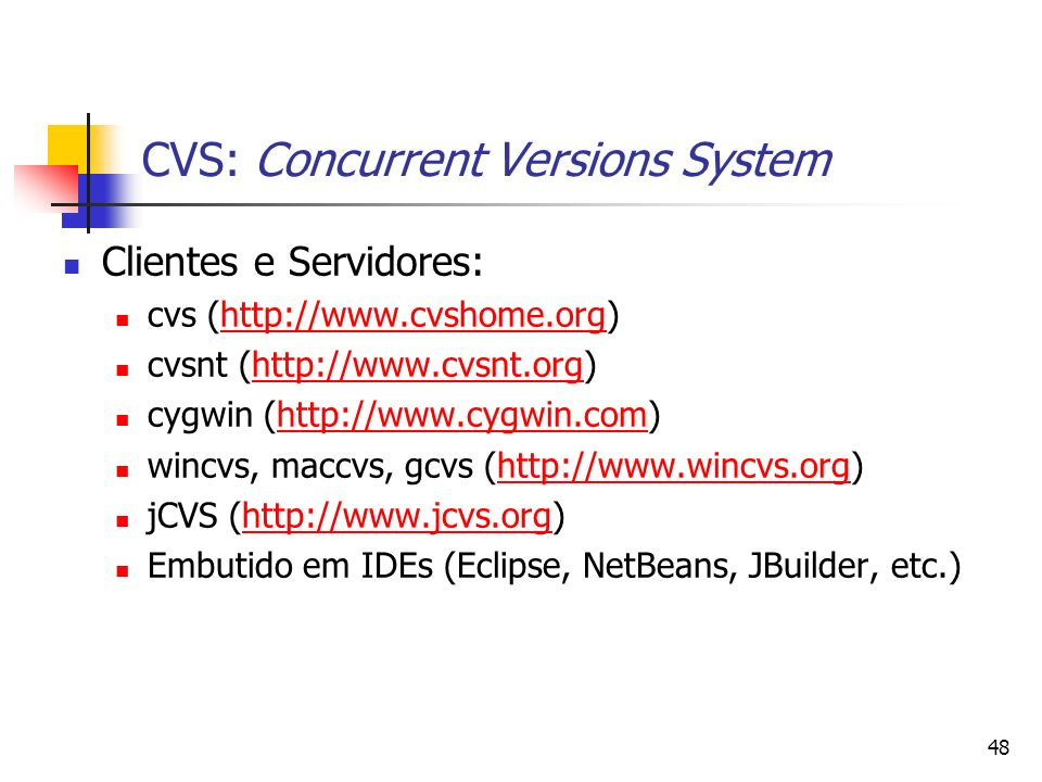 CVS: Concurrent Versions System