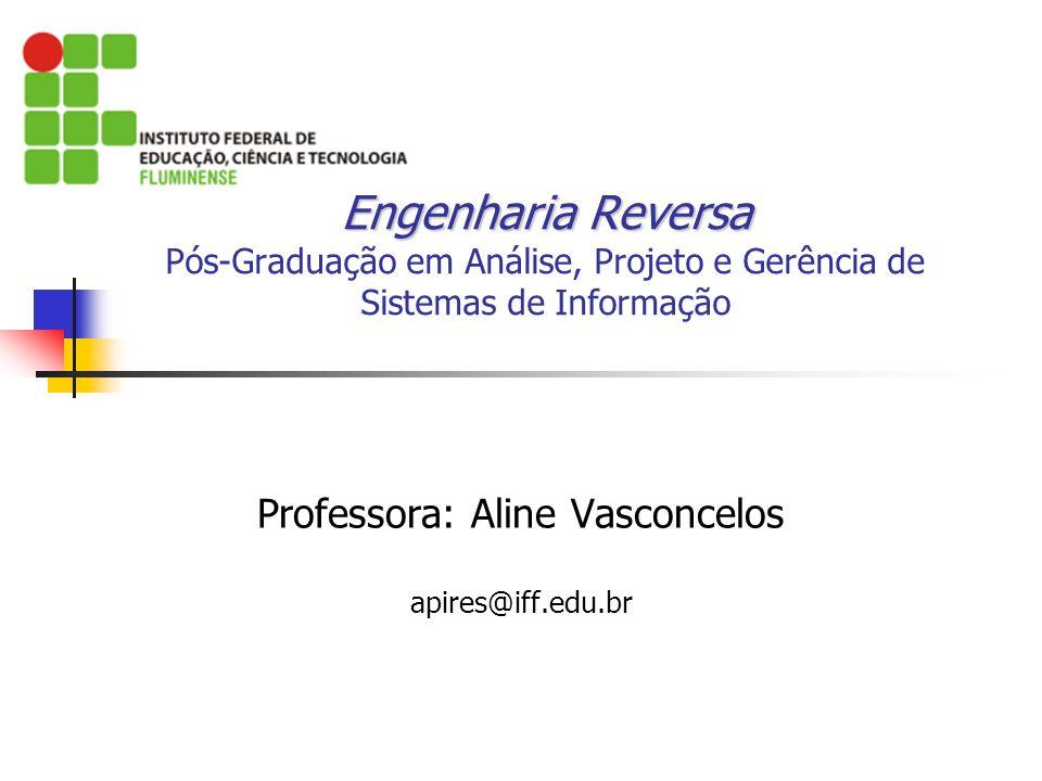 Professora: Aline Vasconcelos apires@iff.edu.br