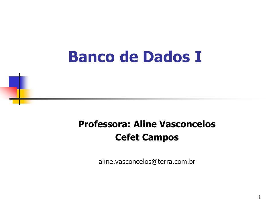 Professora: Aline Vasconcelos
