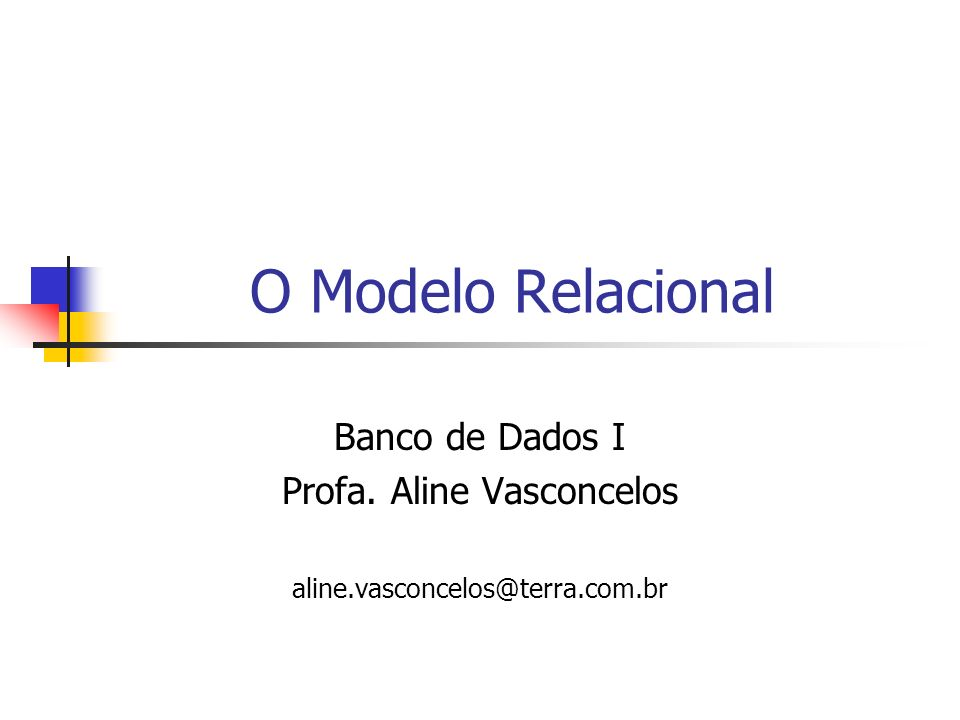Profa. Aline Vasconcelos