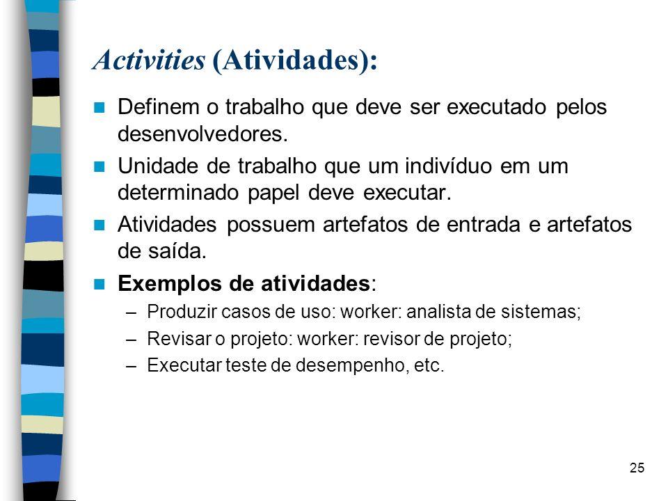 Activities (Atividades):