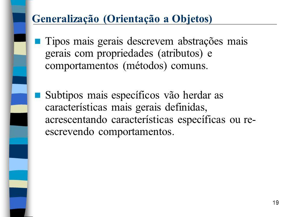 Generalização (Orientação a Objetos)