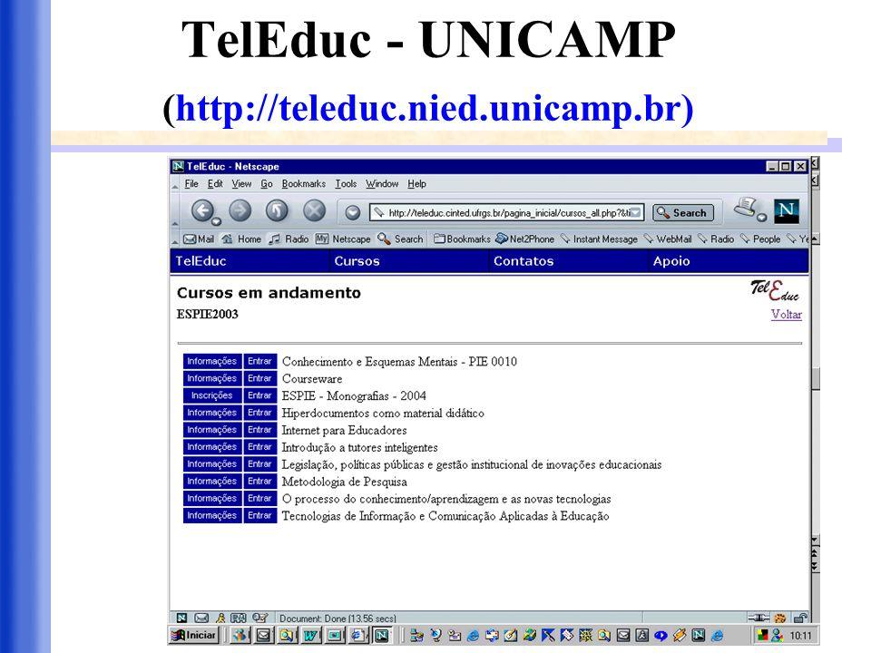 TelEduc - UNICAMP (http://teleduc.nied.unicamp.br)
