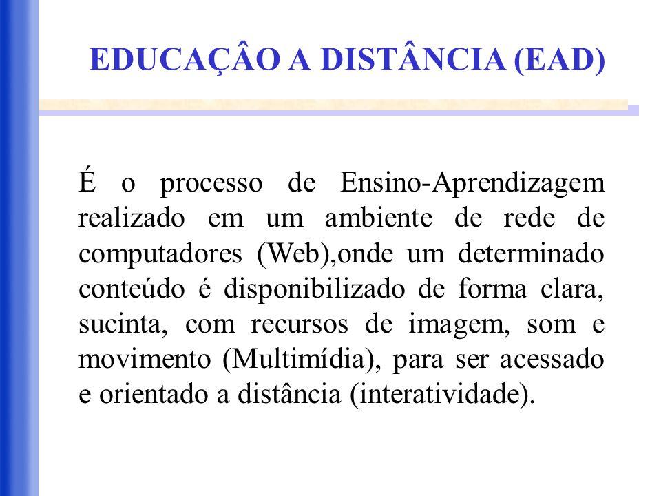 EDUCAÇÂO A DISTÂNCIA (EAD)